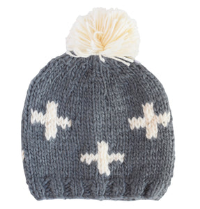 Miko Swiss Cross Knit Hat