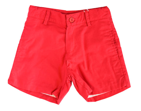 Liam Red Shorts