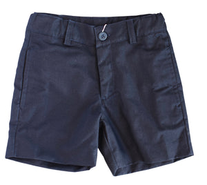 Navy button front shorts from Dondolo