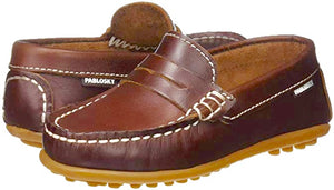 Leather Loafer - Cognac