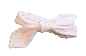 Pink Lemonade Polka Dot Headband