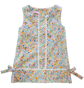 Peggy Green Sophie Dress in sur la mer print