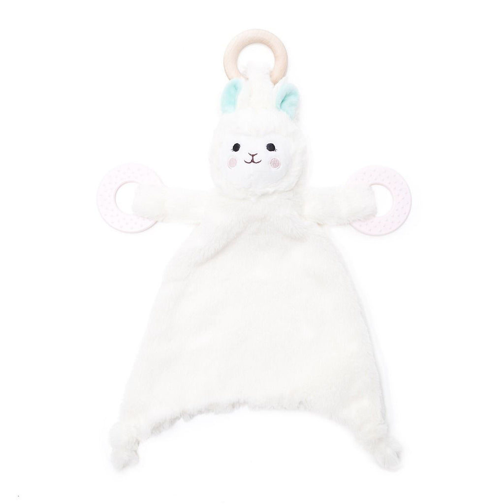 bella tunno loretta the llama lovie with teething rings stuffed animal