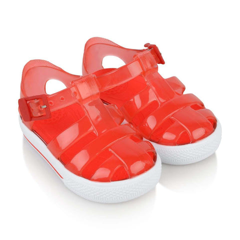 Tenis Red Jelly Shoe