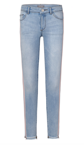 Chloe Skinny Jean with Racing Stripe