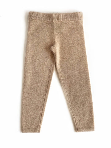 Cashmere Legging in Beige