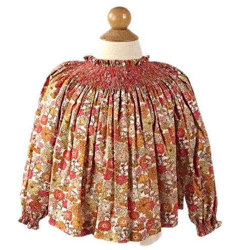 Addison Smocked Blouse