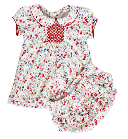 Madison Poppy Floral Dress