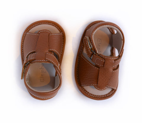 Leather Crib Sandal