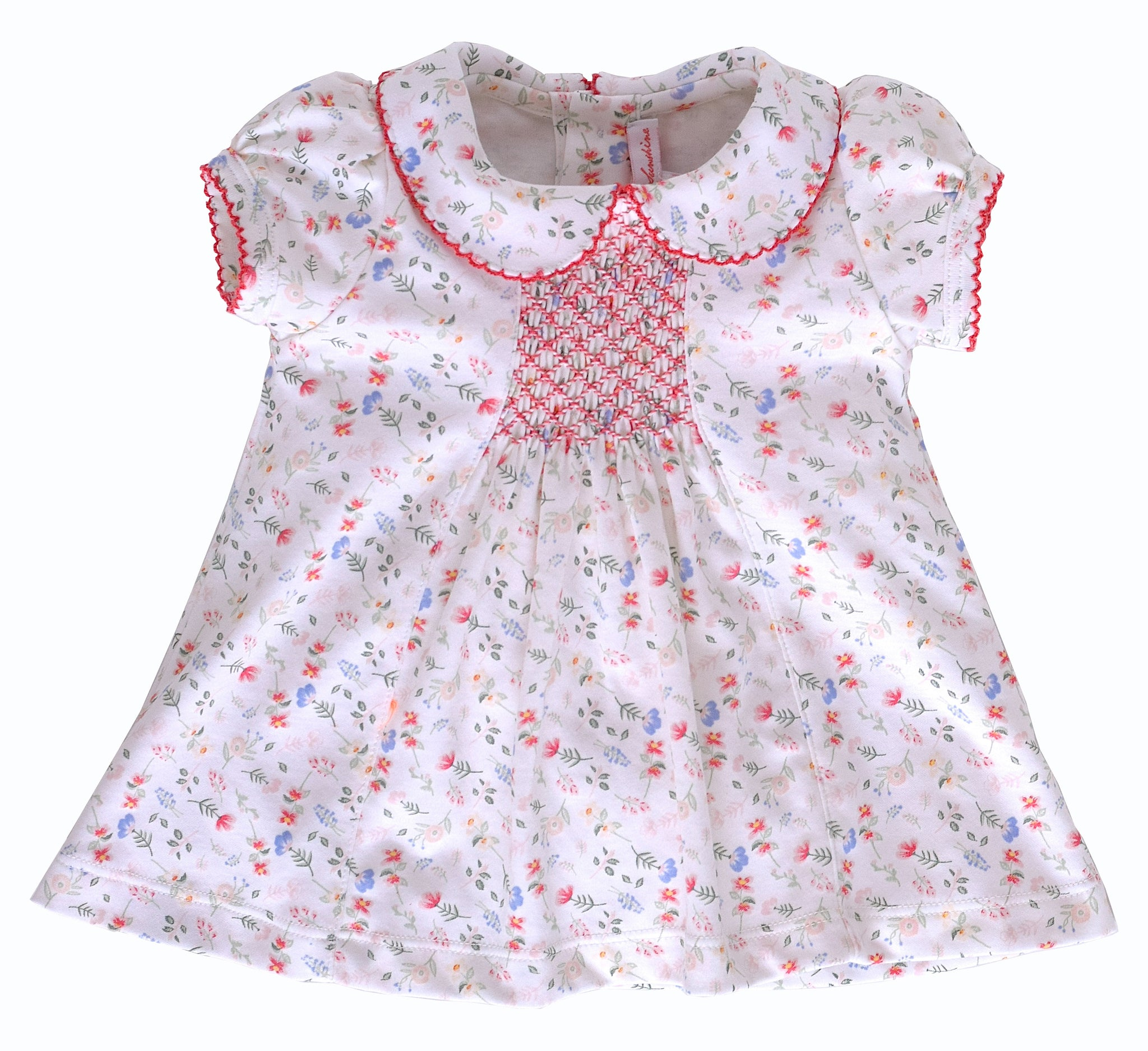 Madison Floral Dress with Ruffle Bloomer