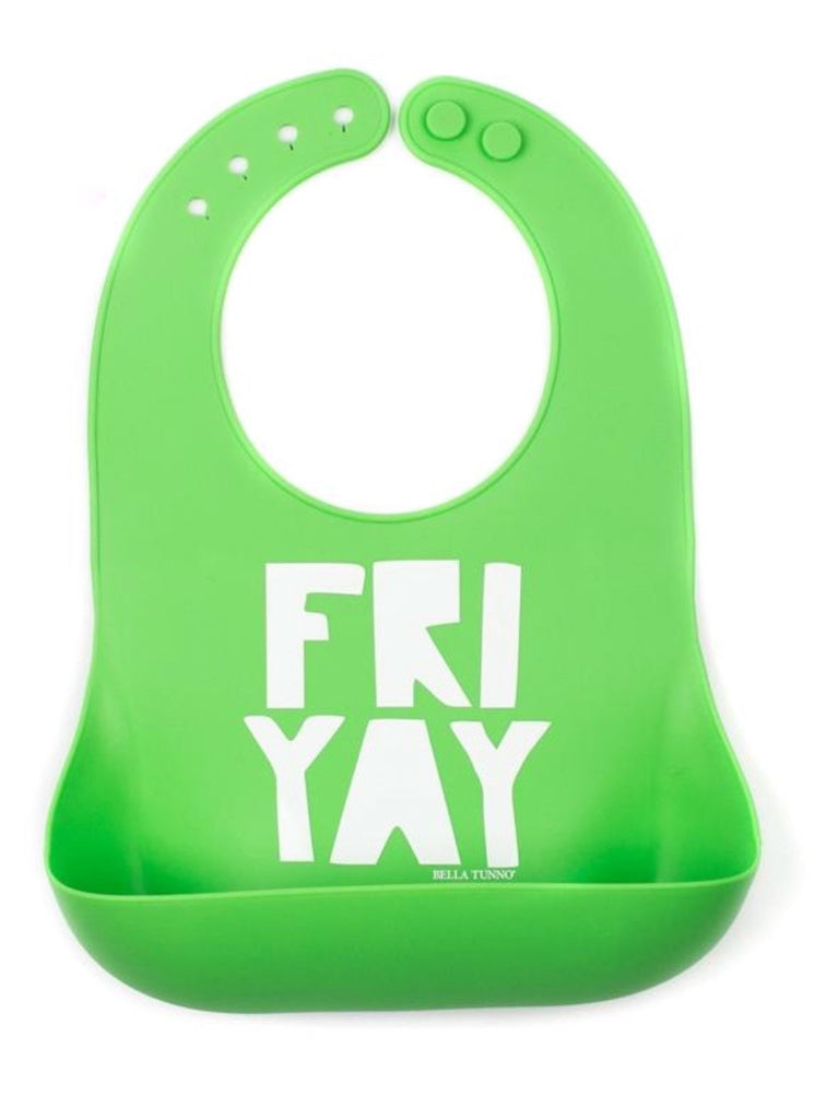 bella tunno catch bib friyay