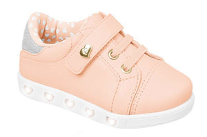 Light Up Heart Sneaker