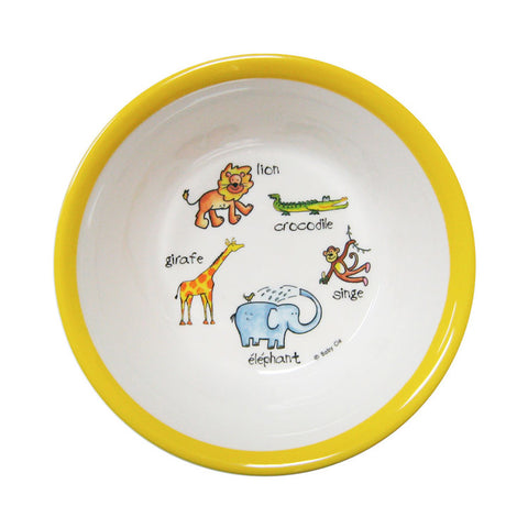 Jungle Animals Suction Bowl