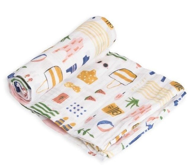 Cotton Swaddle-Beach Bag