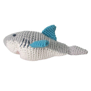 Shark Rattle Doll