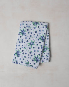 Cotton Swaddle - Blueberry