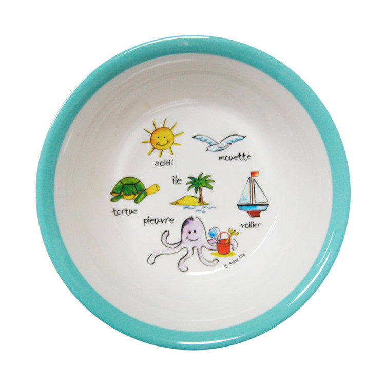 Ocean Animals Suction Bowl