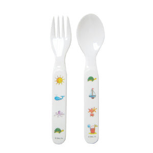 Ocean Animals Fork and Spoon