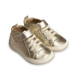 Gold Pave Sneakers
