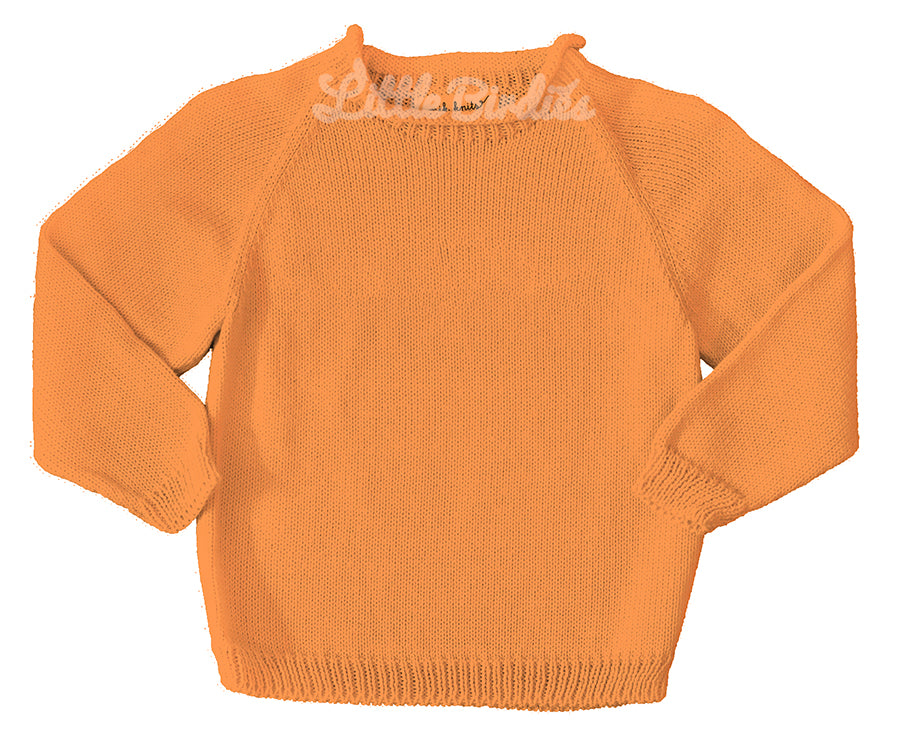 Custom Intarsia Sweater - Girls