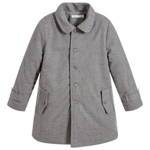 Grey Quilted Coat