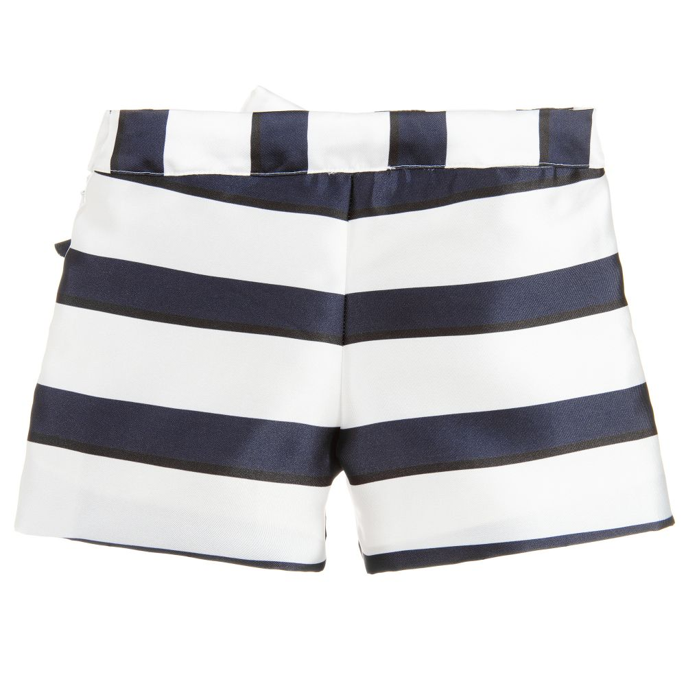 back view striped shorts patachou