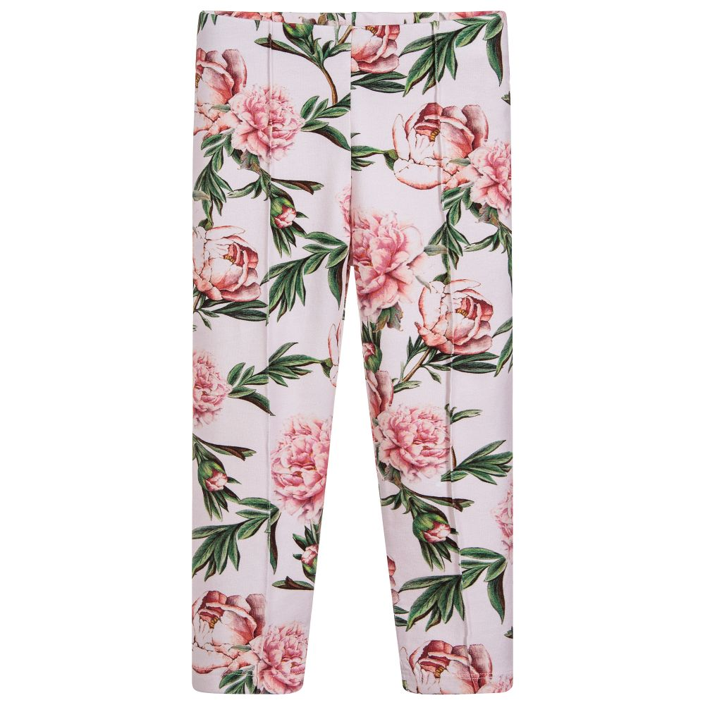 pink roses knit legging patachou