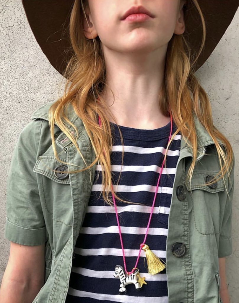 Zoe the Zebra Necklace