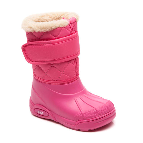 Fuchsia Snow Boot
