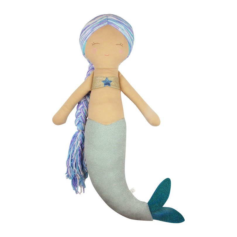 Large Sparkle Mermaid Doll
