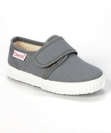 cienta shoes single strap velcro shoes - little birdies boutique