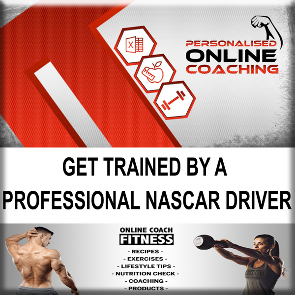 Get Fit from a Pro NASCAR Driver Program