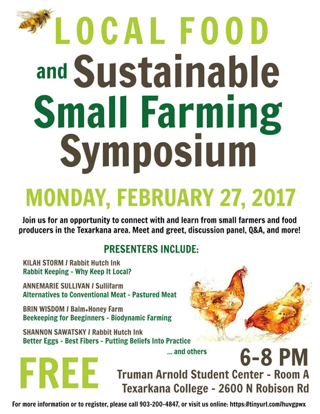Local Food and Small Farming Symposium