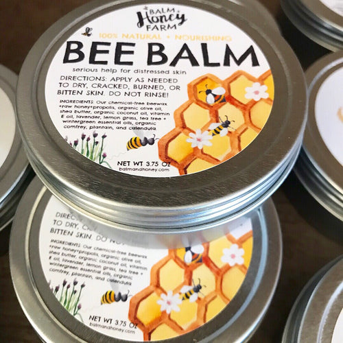 Bee Balm - a Natural Skin Remedy