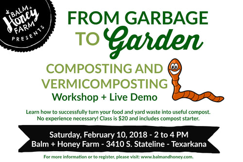 From Garbage to Garden Composting Workshop