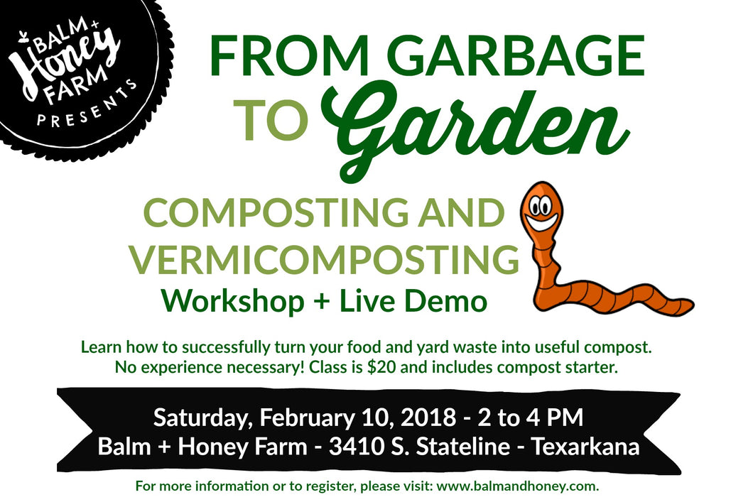 From Garbage to Garden Composting Workshop LIVE