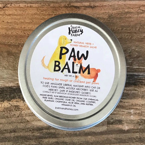 Paw Balm - a Natural Remedy for Pets
