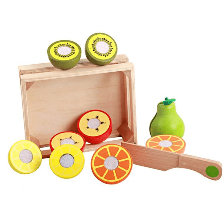 Wooden Fruit Play Set