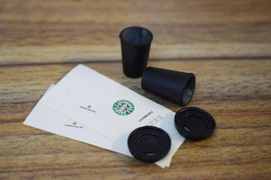Miniature Starbucks Coffee With Bag