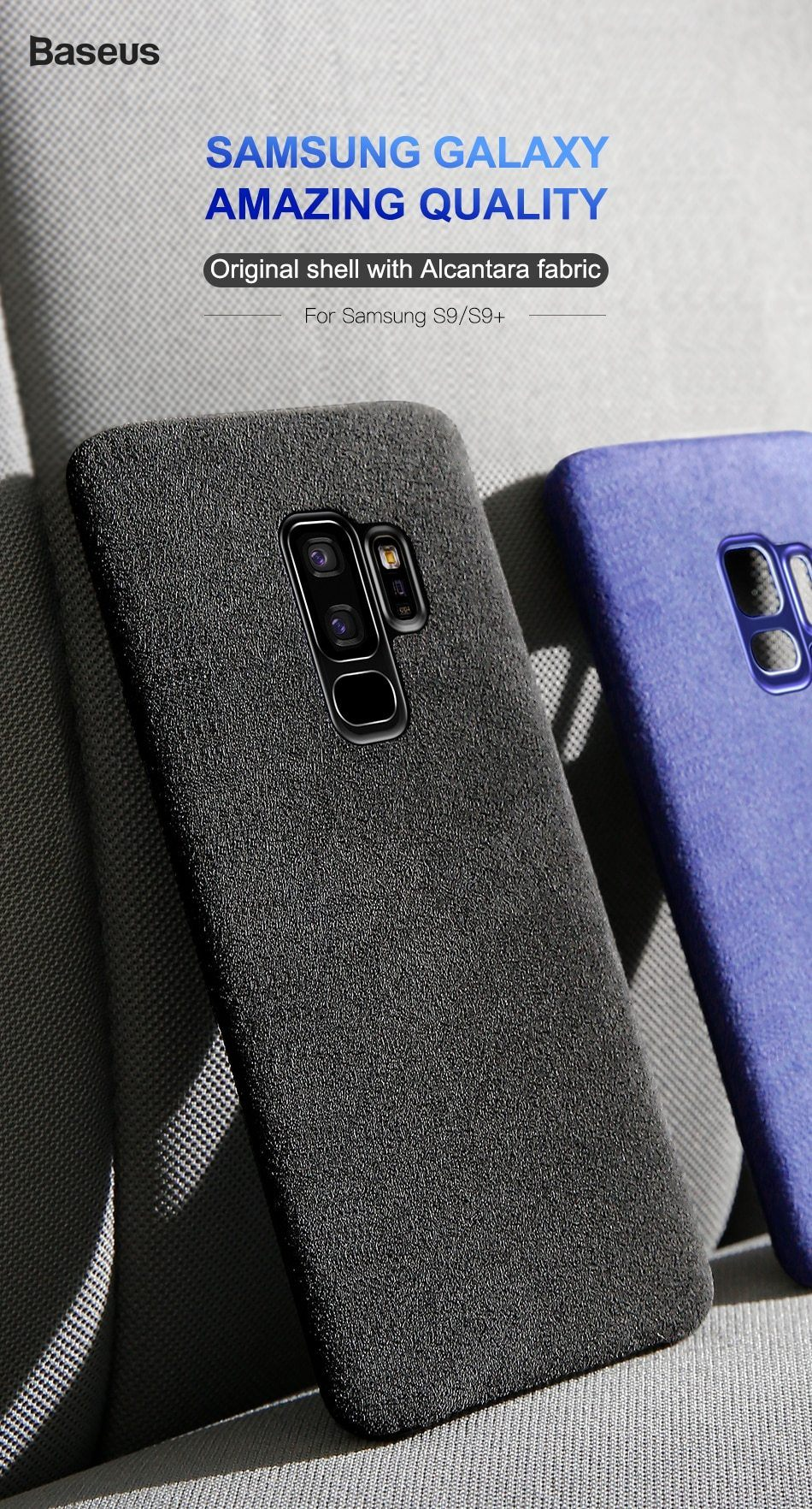 Baseus Retro Soft Touch Case (Samsung S9 & S9+)