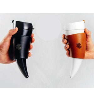 Premium Goat Horns Stainless Steel Thermos