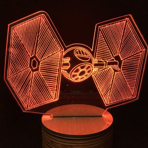 3D ILLUSION LED STARWARS™ LAMP