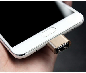 Micro USB 2.0/ USB TYPE-C/ IPHONE ( OTG Adapter)