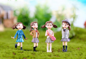School Girl Miniature - BUY 1, GET 3 FREE