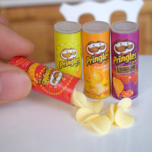 Miniature Potato Chips Set (Scale 1:6)
