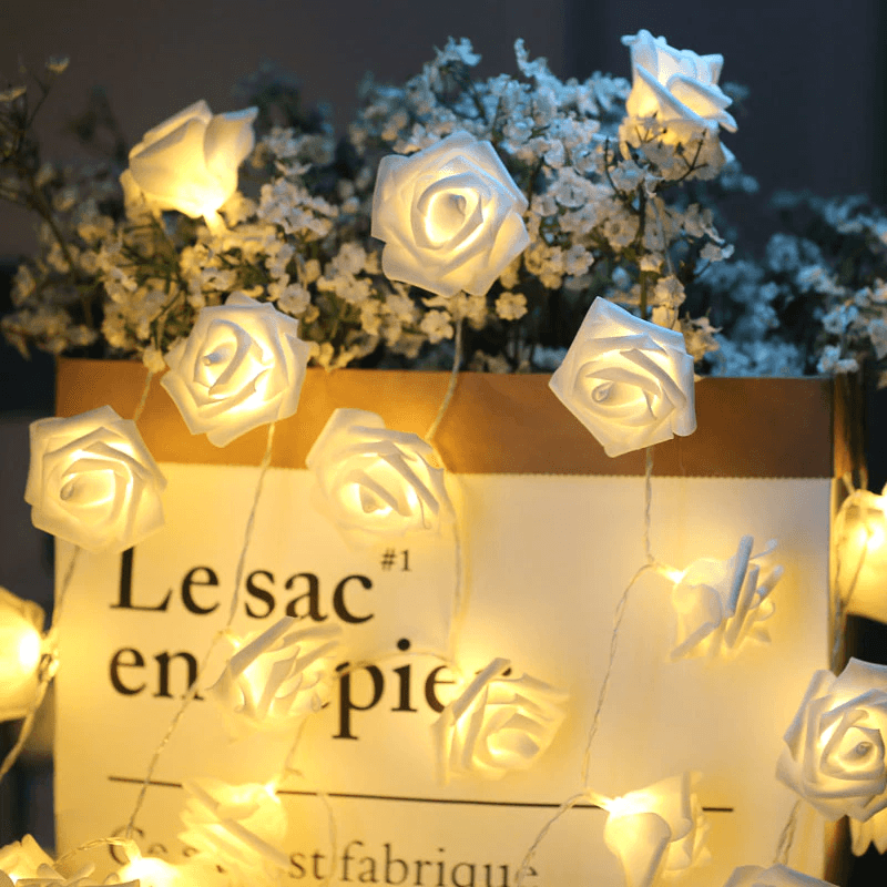 Rose LED Decoration Set