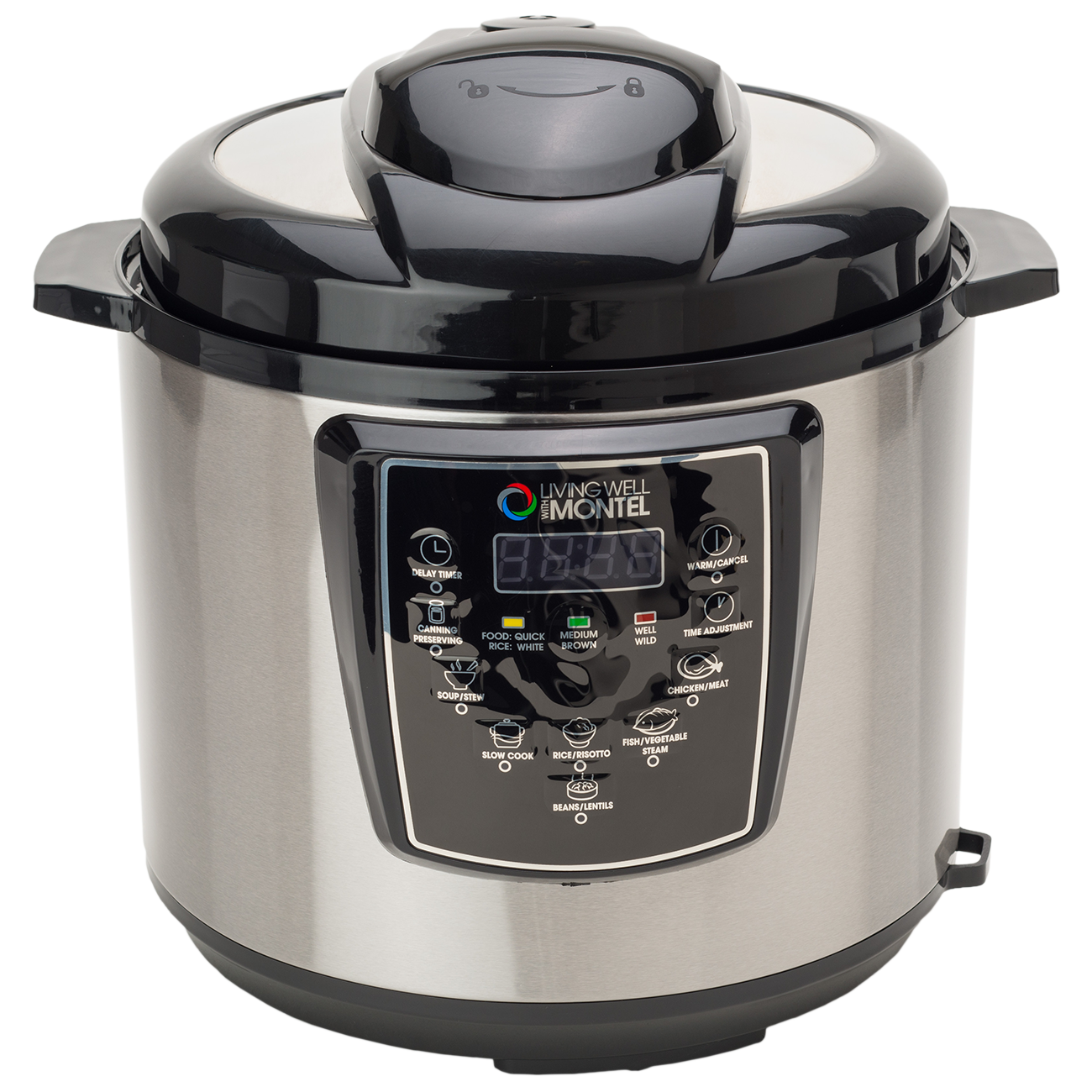 6 Quart Pressure Cooker - Living Well Products, LLC