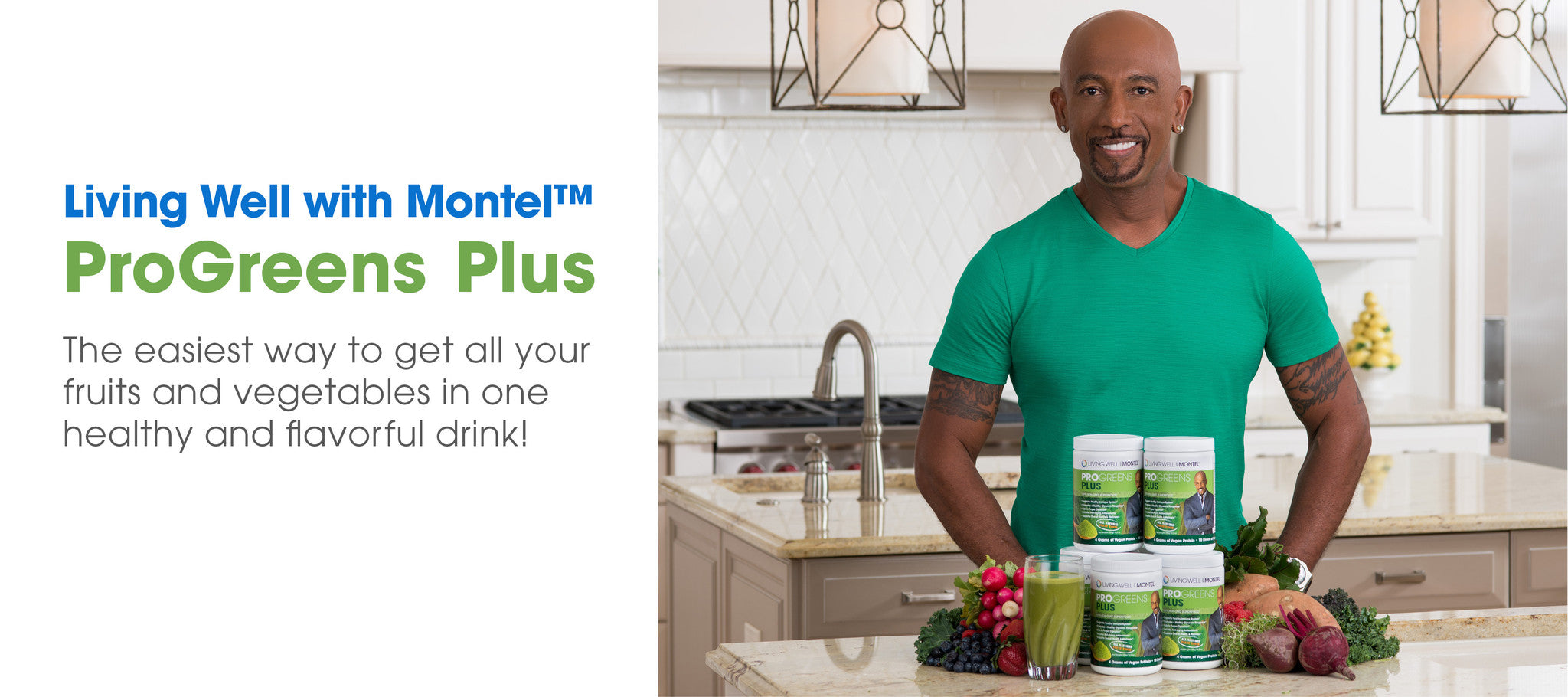 Living Well with Montel ProGreens Plus