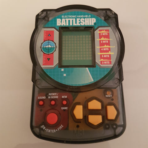 Electronic Hand-Held Battleship