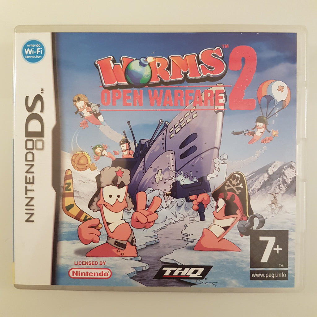 Worms 2: Open Warfare